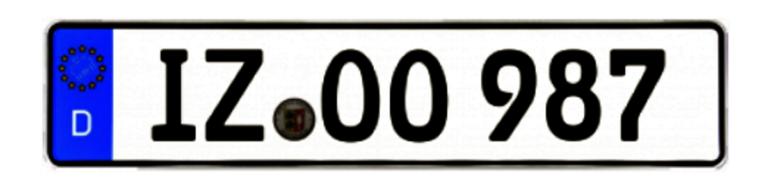 Zulassungsstelle Itzehoe Wunschkennzeichen IZ
